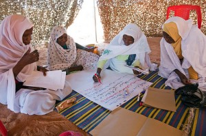 September, 2012. Women attend the Open Day Workshop on the UN Security Council Resolution 1325 on Women, Peace and Security in Malha, North Darfur. [Source: flickr, UNAMID]